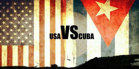 USA vs. CUBA FLAGS
