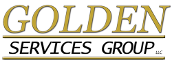 Gold Lettering - Golden Services Group LLC